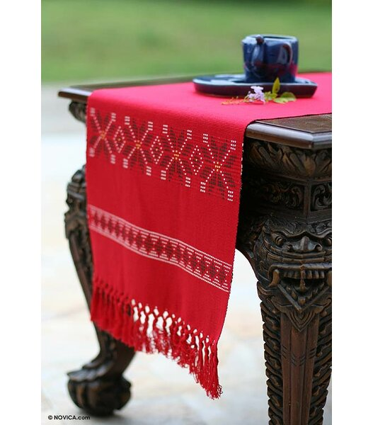 Damon Cotton Table Runner by Loon Peak