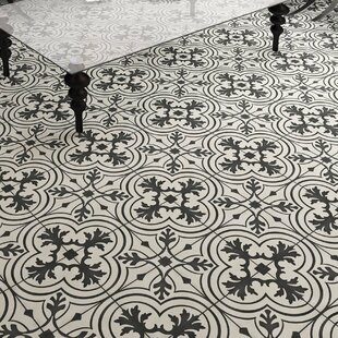Vintage Bathroom Floor Tile | Wayfair