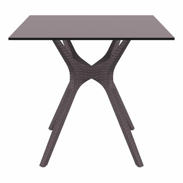 Fray Square Dining Table by Ivy Bronx