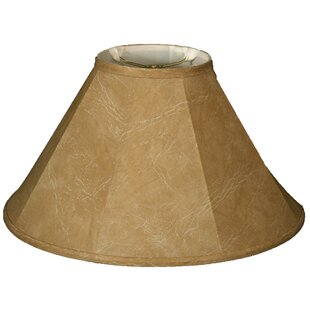 22 inch  Faux Leather Empire Lamp Shade