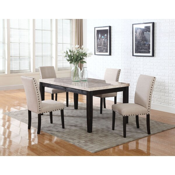 Dinette 5 Piece Dining Set by BestMasterFurniture
