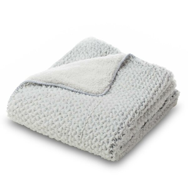 Essential Mink Faux Fur Throw Blanket by Where the Polka Dots Roam