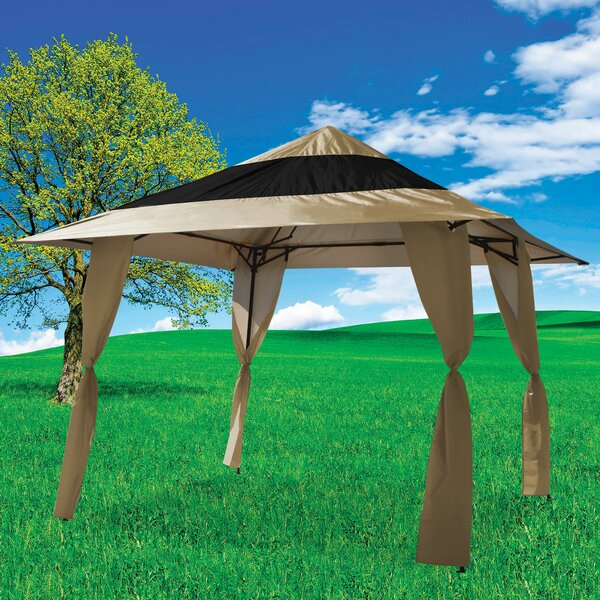 12 Ft. W x 12 Ft. D Steel Pop-Up Canopy by E-Z UP