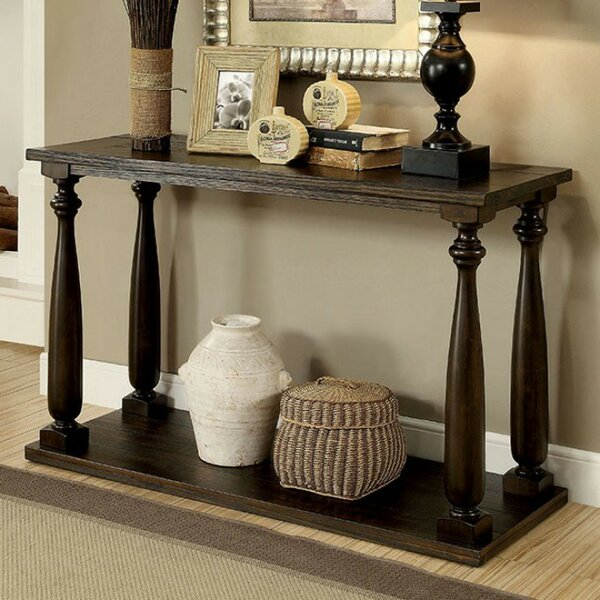 Review Barbury Uniquely Framed Console Table