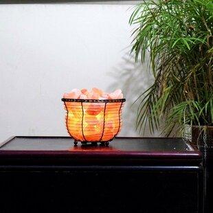 Read Reviews Neva Himalayan 7.25 Salt Lamp By Bungalow Rose
