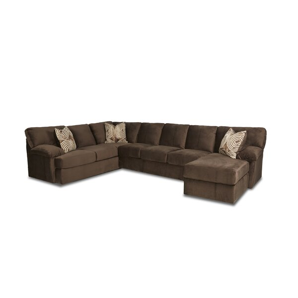 Viet Left Hand Facing  U-shaped Sectional By Red Barrel Studio