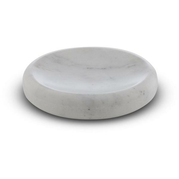 Chung Round Marble Soap Dish by George Oliver