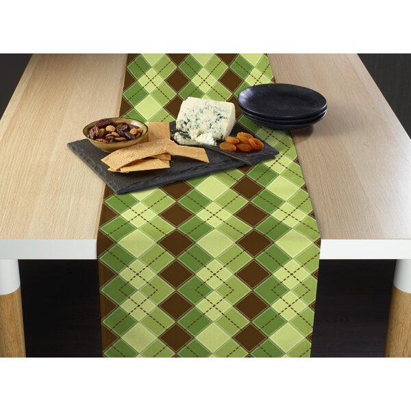 Foerster Argyle Plaid Table Runner by Red Barrel Studio