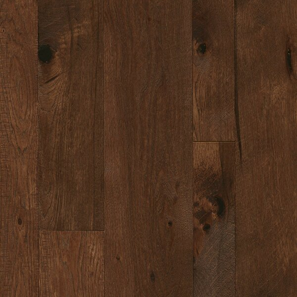 Random Width Engineered Hickory Hardwood Flooring in Forest Path by Armstrong Flooring