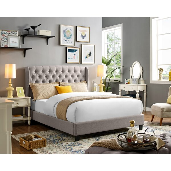 Abrahamson Queen Upholstered Platform Bed by Darby Home Co
