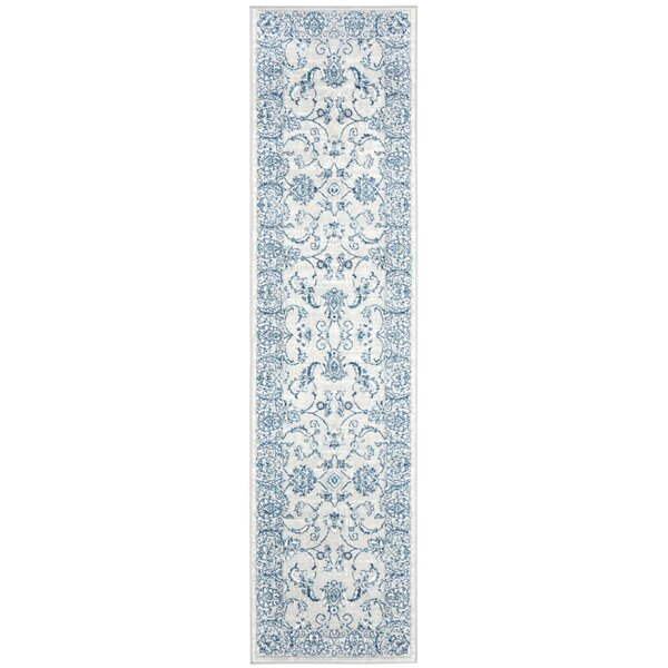 Lamartine LightGrey/Blue Area Rug