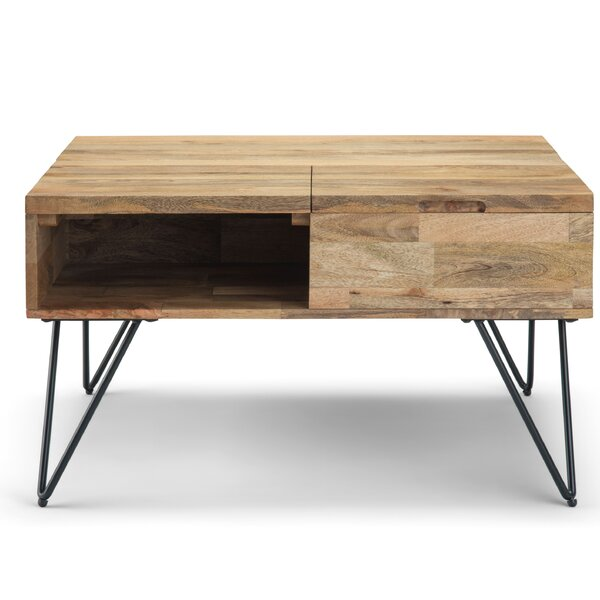 Claudia Lift Top Coffee Table By Union Rustic