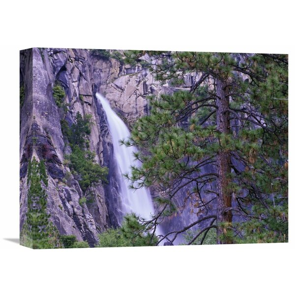 Nature Photographs The Cascades From Yosemite National Park, California by Tim Fitzharris Photographic Print on Wrapped Canvas by Global Gallery