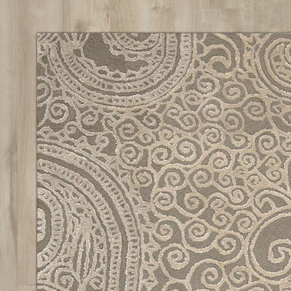 Cinderford Hand-Tufted Cappucino Area Rug by House of Hampton