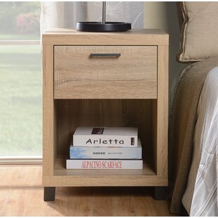 Best Choices Cowell 1 Drawer Nightstand By Ebern Designs