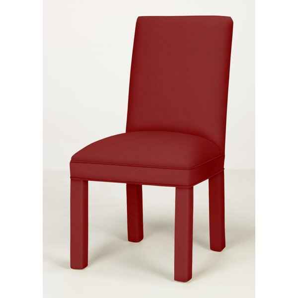 Candia Upholstered Side Chair In Red By Ebern Designs