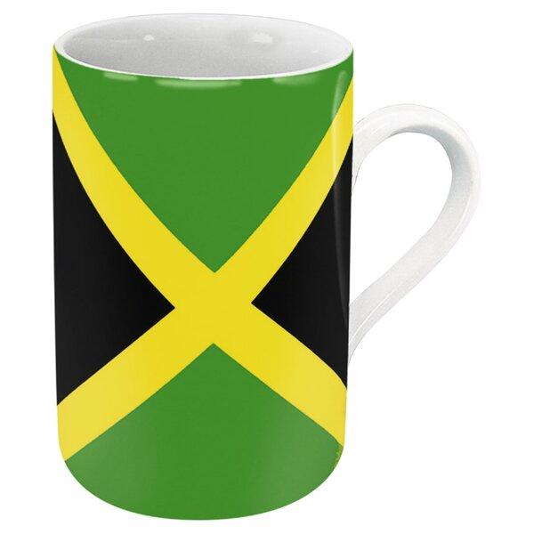 Jamaica Flag Mug (Set of 4) by Konitz