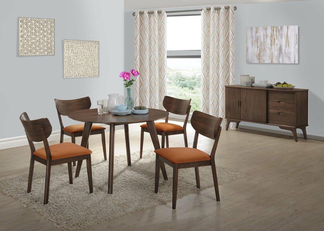George Oliver Waterbury Solid Wood Dining Chair & Reviews   Wayfair