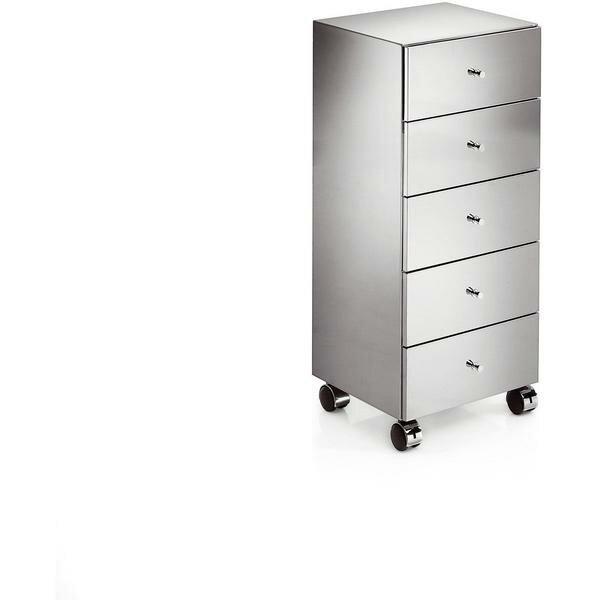 Sison Runner Standing Steel Mobile Wheel Storage Cabinet by Orren Ellis