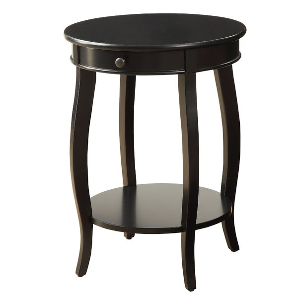 Bouie End Table with Storage by Charlton Home