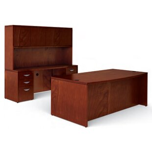 Ventnor 3-Piece Standard Desk Office Suite by Offices To Go Fresh