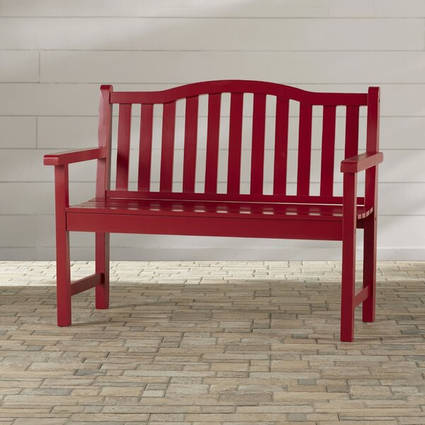 Ambler Wood Garden Bench by Beachcrest Home