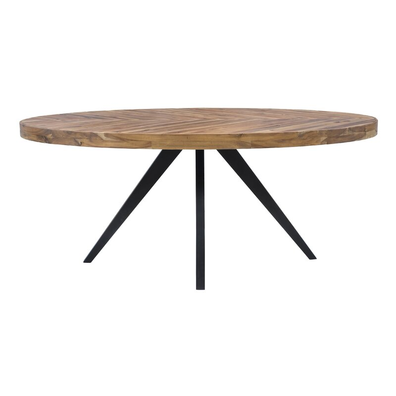 Attirant Serita Oval Dining Table