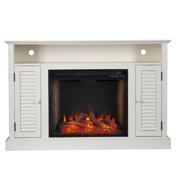 Antebellum Alexa Enabled Media Fireplace By Ebern Designs