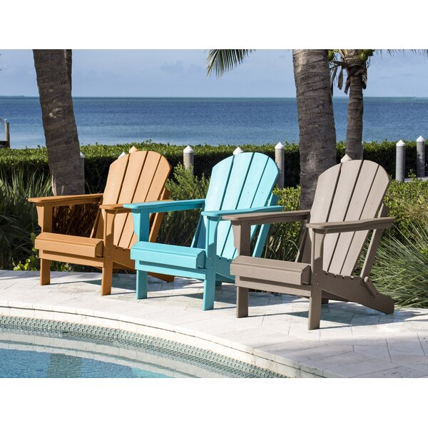 Plastic Folding Adirondack Chair by Panama Jack Outdoor Panama Jack Outdoor