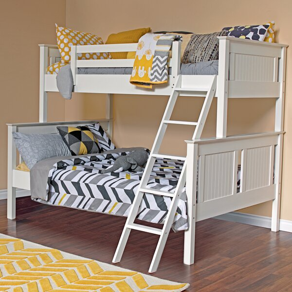 Edick Twin Over Full Bunk Bed by Harriet Bee