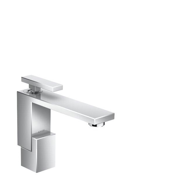 Edge Avantgarde Single Hole Bathroom Faucet with Drain Assembly