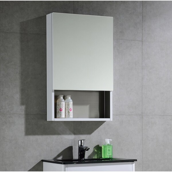 Donatello 19.6 x 31.5 Surface Mount Frameless Medicine Cabinet