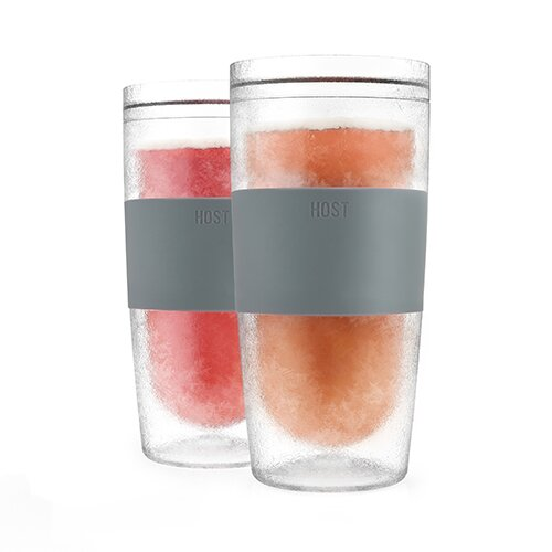 Tumbler Freeze Plastic Pint Glass (Set of 2) by HOST