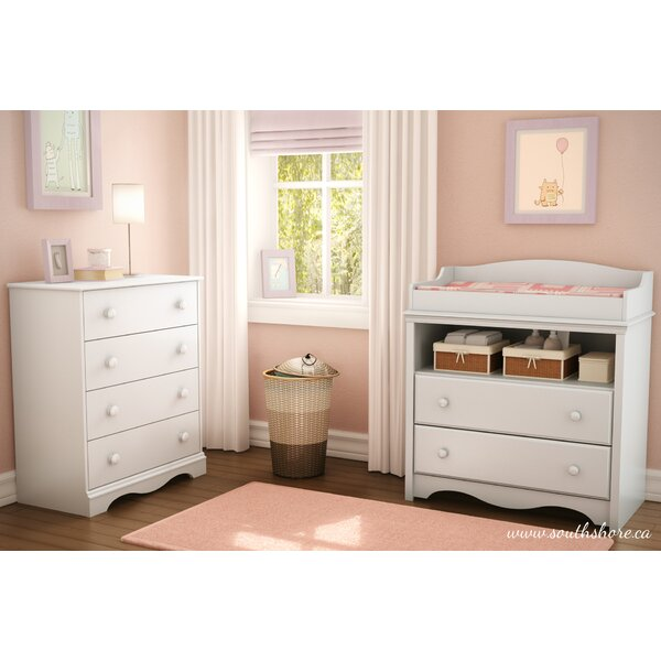 Angel Changing Table and Chest by South Shore