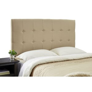Dublin Modern Adjustable Foam Upholstered Panel Headboard by Alcott Hill