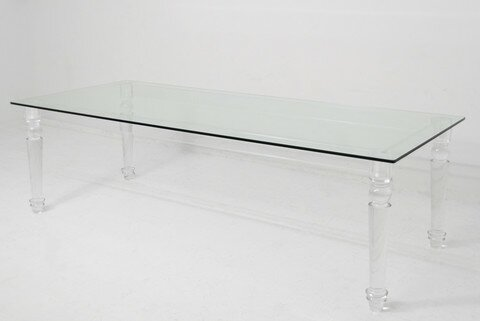 Lucite Beverly Hills Dining Table by ModShop ModShop