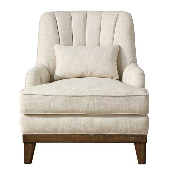 Neil Wingback Chair by Rosdorf Park