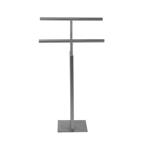 Campanella Industrial Horizontal Coat Rack by Ivy Bronx
