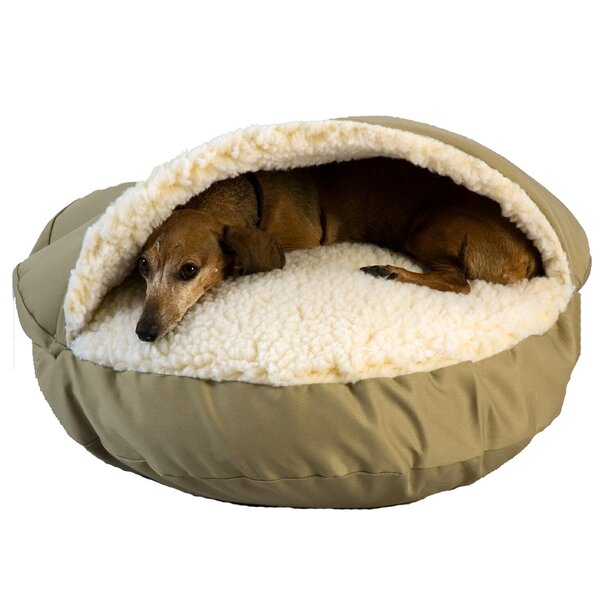 Snoozer Cozy Cave Pet Hooded Dog Bed by Snoozer Pet Products