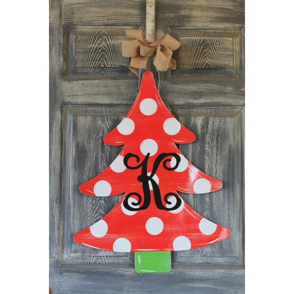 Christmas Tree Door Hanger Sign by The Holiday Aisle
