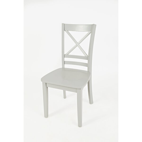Coddington Solid Wood Dining Chair (Set of 2) by Alcott Hill