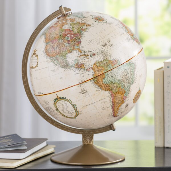 12 Traditional Globe By Red Barrel Studio.