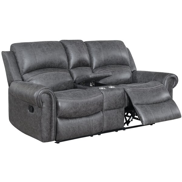 Read Reviews Jacque Reclining 80 Pillow Top Arm Loveseat by Red Barrel Studio