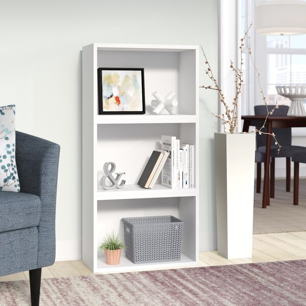 Andrade Standard Bookcase By Wrought Studio