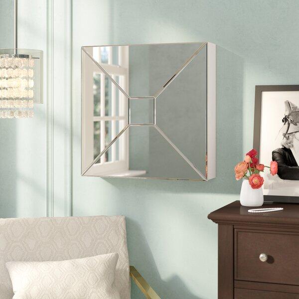 Jaina Mirrored Wall Mounted Jewelry Armoire by Willa Arlo Interiors