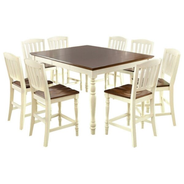 Andrew Cottage Counter Height Dining Table by August Grove
