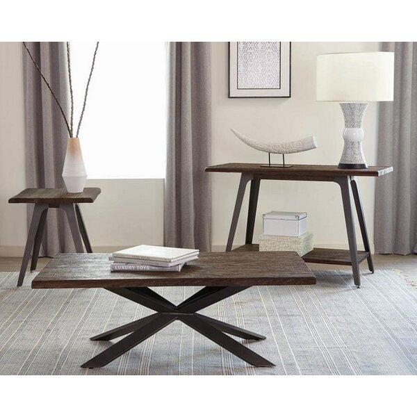 Leda 3 Piece Coffee Table Set