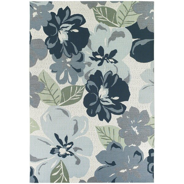 Dimmick Blue Indoor/Outdoor Area Rug by Winston Porter