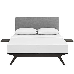 Attirant Hannigan Platform 3 Piece Bedroom Set