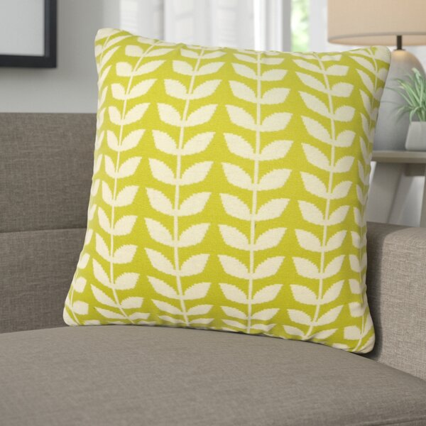Erica Cotton Throw Pillow by Corrigan Studio